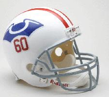 Boston Patriots Helmet 1960 Throwback Deluxe Replica Full Size by Riddell