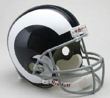 St Louis Rams Helmet 1965-72 Throwback Deluxe Replica Full Size by Riddell