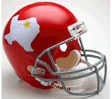 Dallas Texans Helmet 1960-62 Throwback Deluxe Replica Full Size by Riddell
