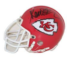 Marcus Allen Autographed Authentic Mini Helmet Kansas City Chiefs by Riddell