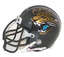 Mark Brunell Autographed Authentic Mini Helmet Jacksonville Jaguars by Riddell