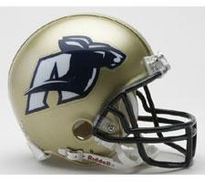 Akron Zips Current Replica Mini Helmet by Riddell