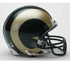 Colorado State Rams Current Replica Mini Helmet by Riddell  Image