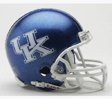Kentucky Wildcats Current Replica Mini Helmet by Riddell - Login for SALE Price Image