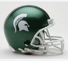 Michigan State Spartans Current Replica Mini Helmet by Riddell - Login for SALE Price Image