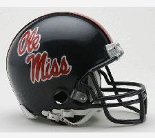 Mississippi Ole Miss Rebels Current Replica Mini Helmet by Riddell - Login for SALE Price Image