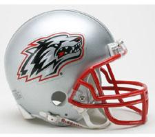New Mexico Lobos Current Replica Mini Helmet by Riddell - Login for SALE Price Image