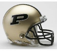 Purdue Boilermakers Current Replica Mini Helmet by Riddell - Login for SALE Price Image