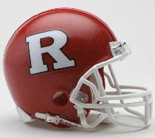 Rutgers Scarlet Knights Current Replica Mini Helmet by Riddell
