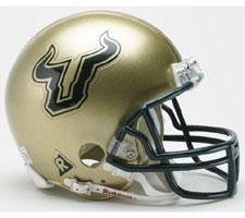 South Florida Bulls Current Replica Mini Helmet by Riddell - Login for SALE Price Image