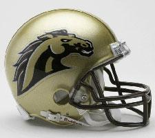 West Michigan Broncos Current Replica Mini Helmet by Riddell - Login for SALE Price Image