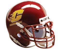 Central Michigan Chippewas 1997-Present Mini Helmet by Schutt Image
