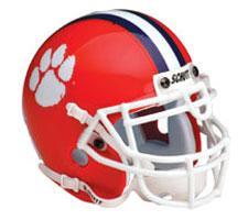 Clemson Tigers 1977-Present Mini Helmet by Schutt