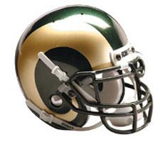 Colorado State Rams 1995-Present Mini Helmet by Schutt Image