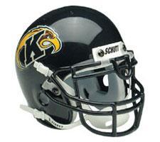 Kent State Golden Flashes 2000-Present Mini Helmet by Schutt Image