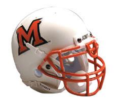 Miami of Ohio RedHawks 1998-Present Mini Helmet by Schutt Image