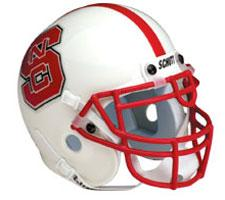 North Carolina State Wolfpack 2000-Present Mini Helmet by Schutt Image