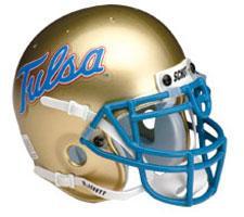 Tulsa Golden Hurricanes Mini Helmet by Schutt