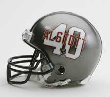 Mike Alstott Player Replica Mini Helmets Tampa Bay Buccaneers by Riddell