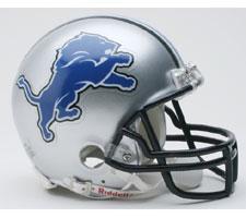 Detroit Lions Helmet Mini 2009-Present by Riddell