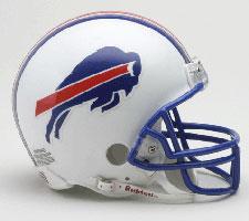 Buffalo Bills 1976-83 Throwback Replica Mini Helmet by Riddell