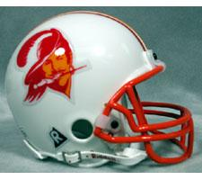 Tampa Bay Buccaneers 1976-96 Throwback Replica Mini Helmet by Riddell