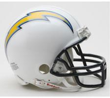 Chargers 2007-2018 Replica Mini Helmet by Riddell