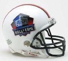 Hall of Fame Logo Replica Mini Helmet by Riddell