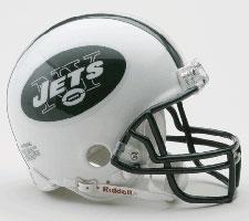 New York Jets 1998-Present Replica Mini Helmet by Riddell