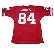 Brent Jones 49er jersey