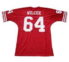 Dave Wilcox Authentic San Francisco 49ers Old Style Jersey