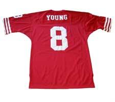 Steve Young Authentic San Francisco 49ers Old Style Jersey
