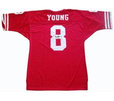 Steve Young Autographed Jersey