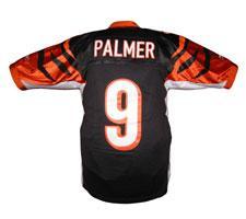 Carson Palmer Cincinnati Bengals Jersey by Reebok, Home, size 48, #9