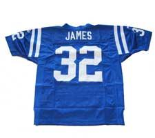 Edgerrin James Authentic Indianapolis Colts Jersey by Puma, Blue, size 48