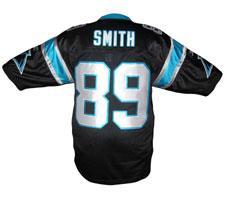 Steve Smith Authentic Carolina Panthers Jersey by Reebok