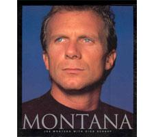 MONTANA the book by Dick Schaap, autographed by Joe Montana