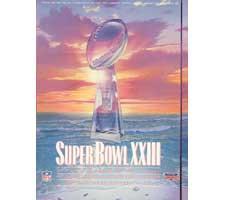 Super Bowl 23 Program