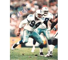 Charles Haley Autographed Photo Dallas Cowboys 16x20 #1004