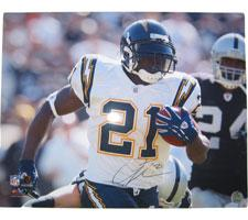LaDainian Tomlinson Autographed Photo San Diego Chargers 16x20 #1116