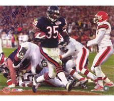 Anthony Thomas Chicago Bears 16x20 #1009 Autographed Photo Image