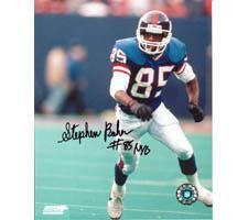 Stephen Baker  New York Giants 8x10 #100 Autographed Photo Image