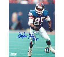 Stephen Baker New York Giants 8x10 #101 Autographed Photo Image