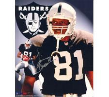 Tim Brown Oakland Raiders 16x20 #1054 Autographed Photo