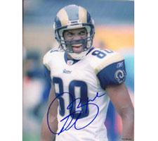 Isaac Bruce St.Louis Rams 8x10 #256 Autographed Photo