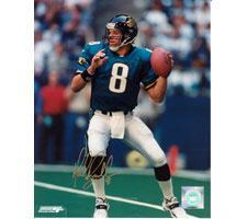 Mark Brunell Jacksonville Jaguars 16x20 #1055 Autographed Photo Image