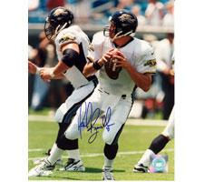 Mark Brunell Jacksonville Jaguars 16x20 #1057 Autographed Photo Image