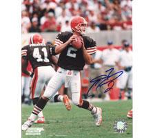 Tim Couch Cleveland Browns 8x10 #166 Autographed Photo Image