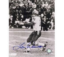Len Dawson Kansas City Chiefs 8x10 #198 Autographed Photo