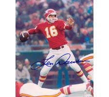 Len Dawson Kansas City Chiefs 8x10 #70 Autographed Photo